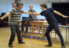 'Tis Pity She's A Whore Combat Training Rehearsals