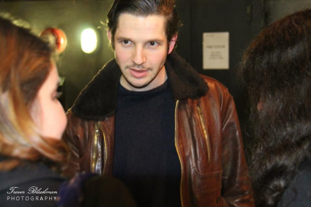 Damien Molony, Royal Court London, 15 Feb 2013 (c) Trevor Blackman Photography, All Rights Reserved