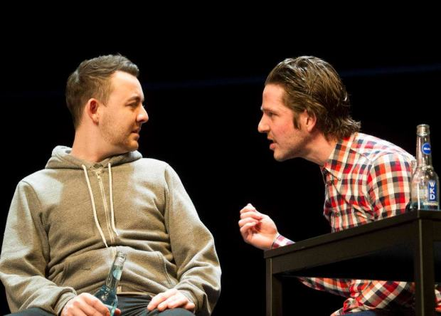 Jason (Damien Molony) and Ryan (Daniel Kendrick) in 'If You Don't Let Us Dream We Won't Let You Sleep'