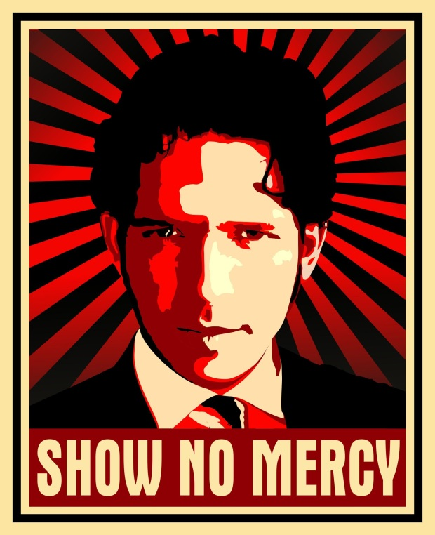 Show No Mercy Poster (c) BBC Being Human Blog