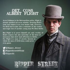 Ripper Street Official: DC Flight