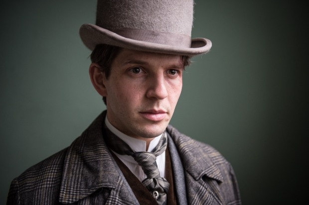 Detective Constable Albert Flight, played by Damien Molony. Copyright BBC/Tiger Aspect Productions