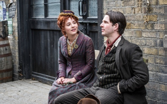 Damien Molony and Charlie Murphy, Ripper Street 2 Episode 4, BBC/ Tiger Aspect