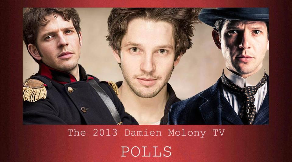 Damien molony TV polls
