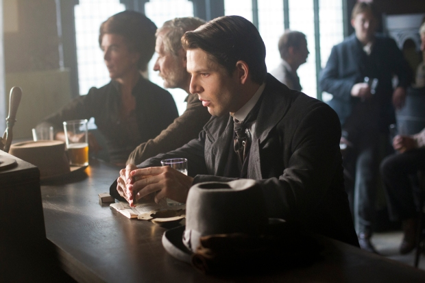 DC Flight (Damien Molony) considers his next move, Ripper Street 2 Episode 7. (c)  Tiger Aspect