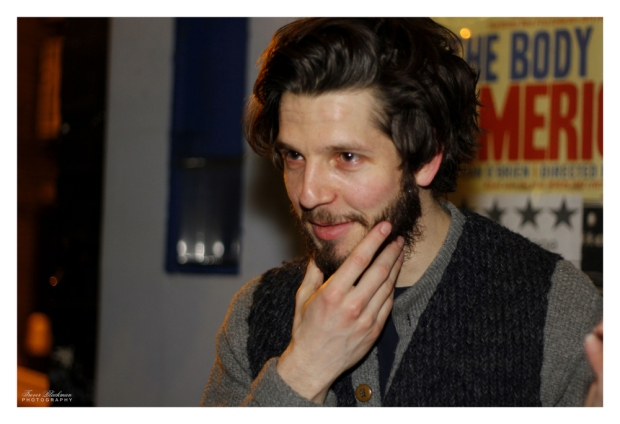Damien Molony, The Gate Theatre London, 23 Feb 2014 (c) Trevor Blackman Photography, All Rights Reserved