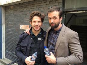 Damien Molony and Emmett Scanlan, photo (c) Kara Manley, 27 June 2014