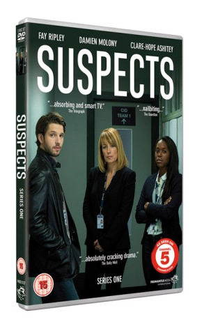 Suspects Series 1 DVD front/spine cover