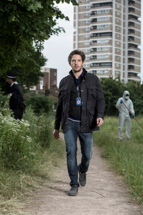 DS Jack Weston (Damien Molony) Suspects 2. (c) Channel 5