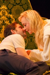 Damien Molony (Spike) and Olive Vinall (Hilary) © John Persson