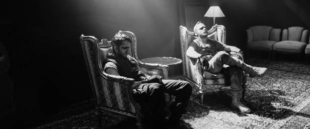 Tiger Raid, Damien Molony & Brian Gleeson black and white