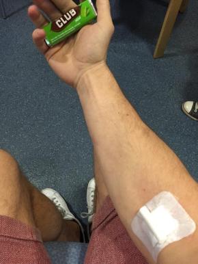 Damien Blood Donation #9