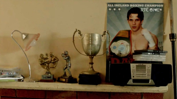 Danny's boxing history on display
