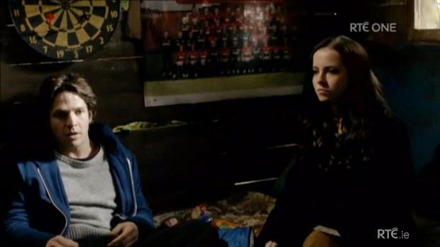 Danny tells Corrina he has to go away