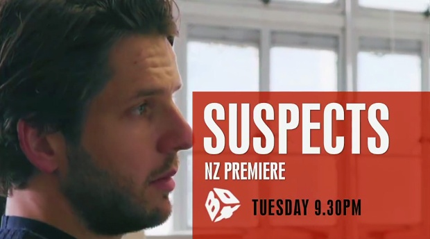 Suspects Series 1 Sky TV NZ 1