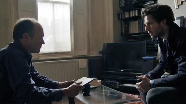 Jack (Damien) and Ken Baxter (Rupert Proctor) Suspects Series 4 premiere