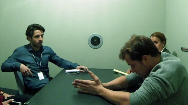 Jack (Damien), and Ricky West (Tom Padley, Suspects Series 4 premiere