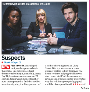 Suspects Series 4 episode 1 | TV Times