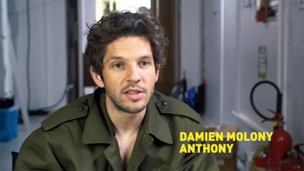 Crashing Damien Molony interview