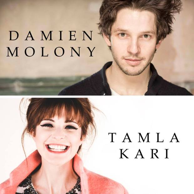 Fell Damien Molony and Tamla Kari