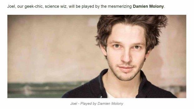 Fell Damien Molony