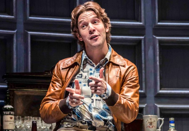 Damien Molony in No Man's Land, Wyndham's Theatre © Johan Persson