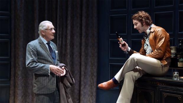 Spooner (Ian McKellen) and Foster (Damien Molony)