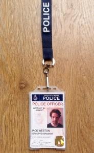 Jack Weston Name Badge