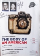 The Body Of An American Poster autographed