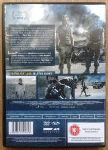 Tiger Raid DVD back cover