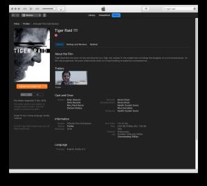 Tiger Raid iTunes