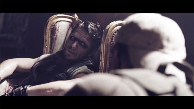 Damien (Paddy) and Brian Gleeson (Joe) in Tiger Raid deleted scene 'Vatican'