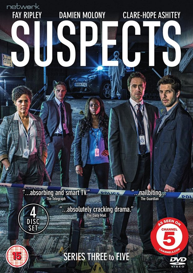 Suspects Series 3 - 5 DVD